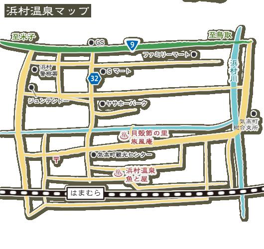 浜村温泉MAP