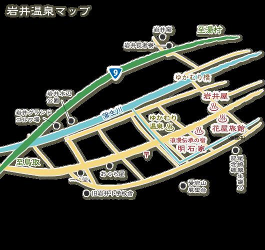 岩井温泉MAP